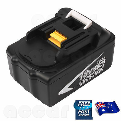 3.0AH 18V Li-ion Battery For Makita BL1830 BL1835 BL1845 BL1815 BL1840 AU