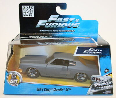 Jada 1/32 Scale Diecast Model Car 97379 Fast & Furious - Dom's Chevy Chevelle SS