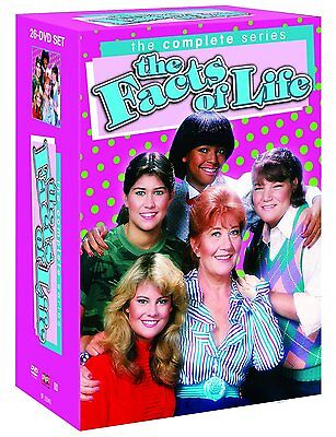 The Facts of Life Complete Series Seasons 1 2 3 4 5 6 7 8 9 DVD Set TV Show Box