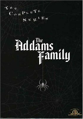 The Addams Family Complete Series DVD Set TV Show Season Volume 1 2 3 Collection