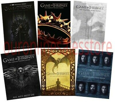 Game of Thrones ALL Season 1-6 Complete DVD Set Collection Series TV Box Lot HBO