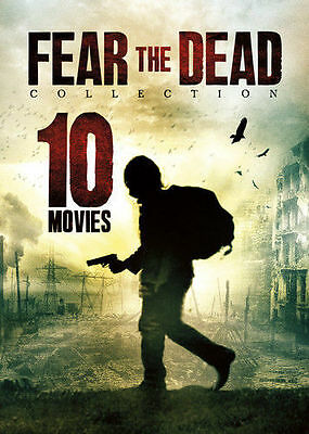 10-Movie Fear the Dead Collection DVD Set Marc Lawrence Survive Slipstream Farm