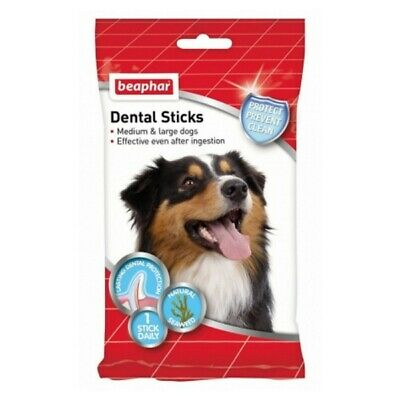 Beaphar Dental Care for Dogs Toothbrush or Dental Sticks - You Choose