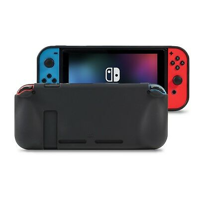 Orzly Comfort Grip Case for Nintendo Switch - Black