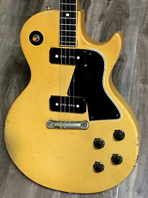 "1956 Gibson LES PAUL TV Special ""Tenor"" Guitar could be the rarest Gibson ever."
