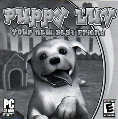 Puppy Luv (Your New Best Friend) (PC-CD, 2006) Win 98/2000/XP - NEW CD in SLEEVE