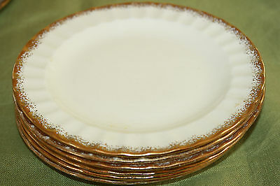 """The Edwin M. Knowles China Co. Usa  """"kno948"""" Pattern (8) Bread & Butter Plates"""