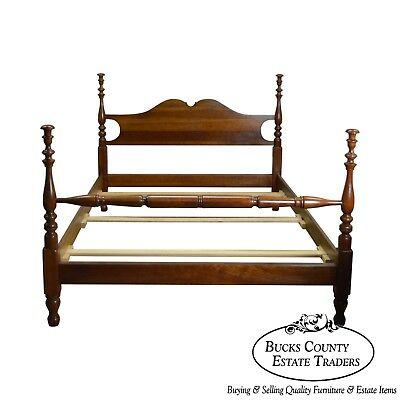 Stickley Cherry Valley Queen Size Poster Bed