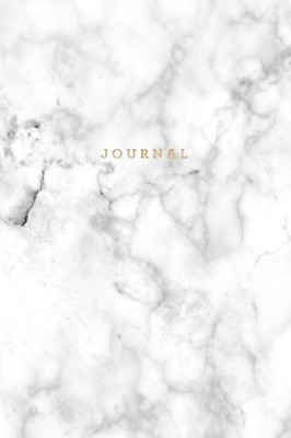 Journal: Marble + Gold Notebook: 120-Page Marble Journal (Gorgeous Journals) (Vo