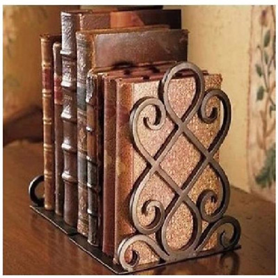 Antique Design Luxury Bookends, Vintage Retro Iron Bookend Shelf Book End
