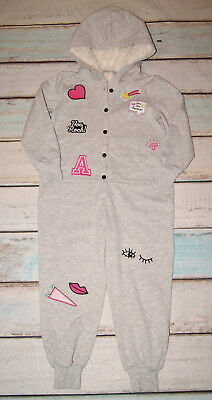 Marks & Spencer Brand New Girls Hood Playsuit One Piece All In One Age 5-6 Years
