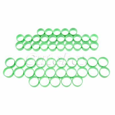 Convenient Green Poultry Leg Rings for Birds Hens Ducks Small/Big Size 50 Pcs