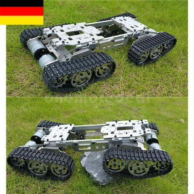 CNC Metal Robot ATV Track Tank Chassis Suspension Obstacle Crossing Crawler EU/