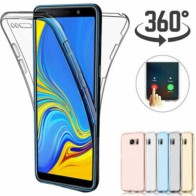 360° Protective Soft TPU Case Cover For Samsung Galaxy A70 A40 A10 A30 A50