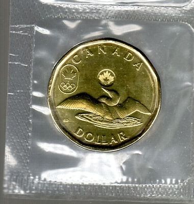 Canada 2014 Lucky Loonie Design For Sochi Winter Olympics Games
