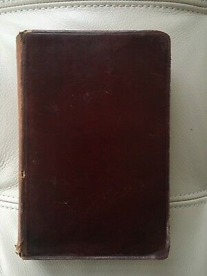Antique Book late 1800's LE DISCIPLES by Paul Bourget IN FRENCH