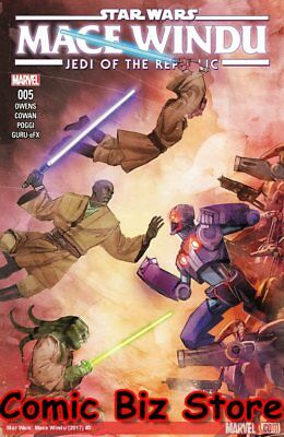 STAR WARS JEDI REPUBLIC MACE WINDU #5 (of 5) (2018) 1ST PRINT BAGGED & BOARDED