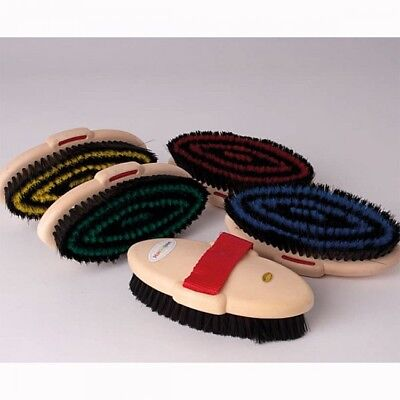 Harlequin Adult Body Brush, Horse & Pony Grooming, Various Colours