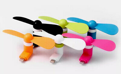 50 X Wholesale Joblot Mobile Mini USB Fan Portable Phone Samsung Android Mixed