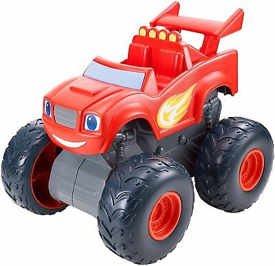 Fisher Price Blaze Monster Truck Super Stunt  3+ Toy Car Race Play Fire Engine