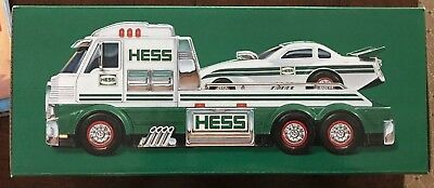 New 2016 HESS Toy Truck And Dragster Brand New In Box With Batteries