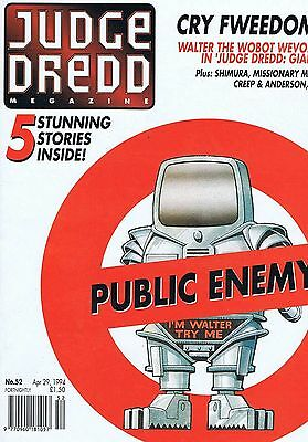 JUDGE DREDD	The Megazine	no.	52	Apr	29	1994