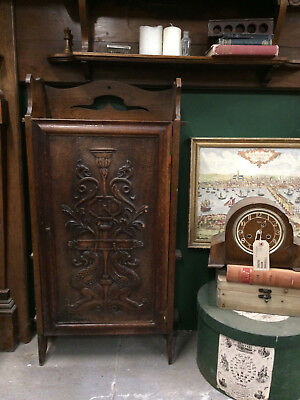 Book wooden carved cupboard cabinet ecclestical style