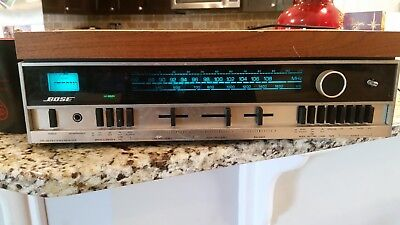vintage Bose am/fm receiver with 901 equalizer