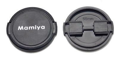 One New Mamiya 58mm Front Lens Cap for Mamiya Lenses NEW