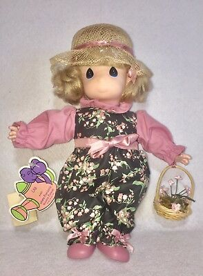 PRECIOUS MOMENTS Lily March #1457 1st Edition Plush Doll - With Tags!