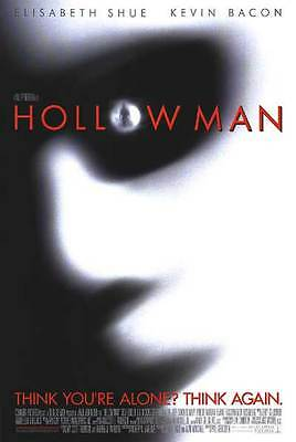 """Hollow Man 2000 Movie Hand Out Promo Poster 17"""" X 11"""" Memorabilia Collectable"""