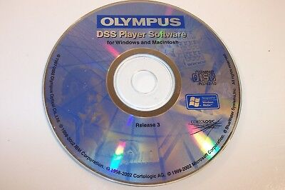 Olympus DSS Player Software - Windows & MAC - Release 3 - FREE SHIPPING