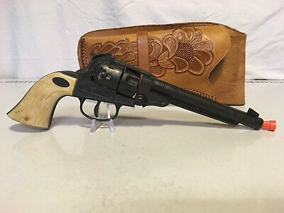 Vintage Halco Western Toy Cap Gun and Holster
