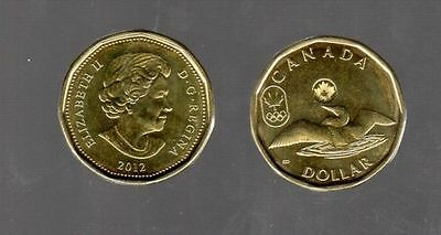 Canada 2012 Lucky Loonie Design For London Summer Olympics Games