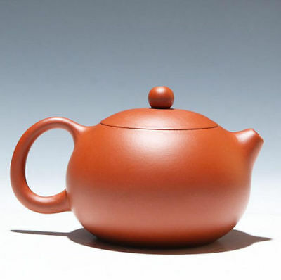 Authentic Chinese Yixing Zisha Clay Handmade Xishi Teapot 180cc Marked