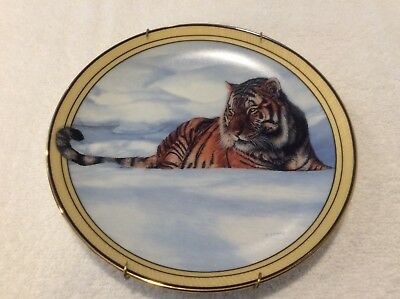 TIGER Collector Plate With GUARDED EYE Terry Isaac SEASON'S OF THE TIGER