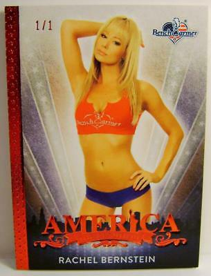 Rachel Bernstein 1/1 1 Of 1 Red  Base Card America The Beautiful Bench Warmer