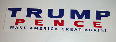 "Re-Elect TRUMP 2020 Bumper Sticker $3.00 3""x10""-Buy 2 Get 1 FREE Shipping!"