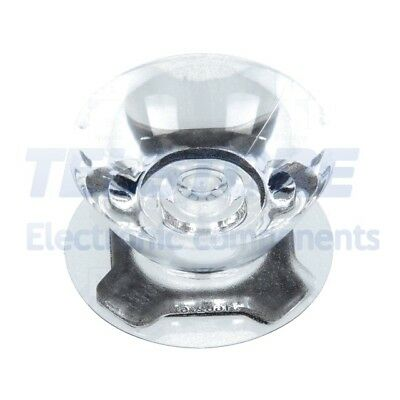 2pcs  Lentille LED rond transparent 6÷12° Fixation ruban adhésif