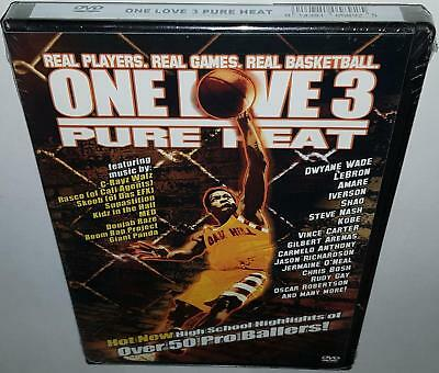 One Love 3  Pure Heat (2005) Brand New Sealed Region Free Basketball Dvd