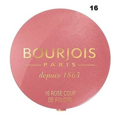 Bourjois Blush Resulta Bonne Mine Ultra-Naturel Boiter-Miroir Et Pinceau Integre