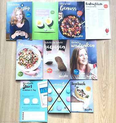 Weight Watchers Starterset Sattmacher Küche ZERO SmartPoints Liste YourWay 2018