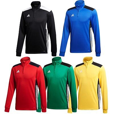 Adidas Boys Regista 18 Long Sleeve Zip Top Training Football Size S M L XL XXL