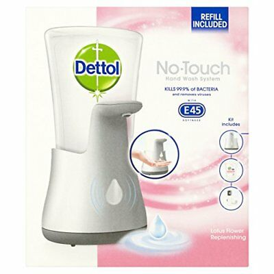 ❤ Dettol No Touch Hand Wash System Lotus Flower 250Ml Soft Batteries Included Ne