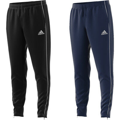 Adidas Boys Core 18 Training Tracksuit Bottom Pants Exercise Running Sports Kids