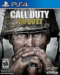 Call of Duty: WWII (Sony PlayStation 4, 2017) COD-PS4 (factory sealed)
