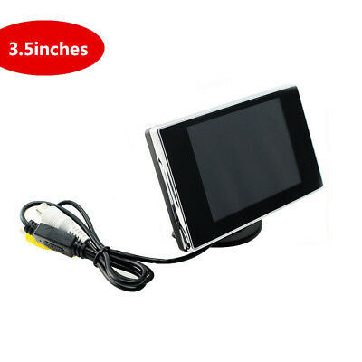 "3.5""TFT LCD Screen Auto Car Video Rearview Monitor Camera Car Backup Parking Kit"