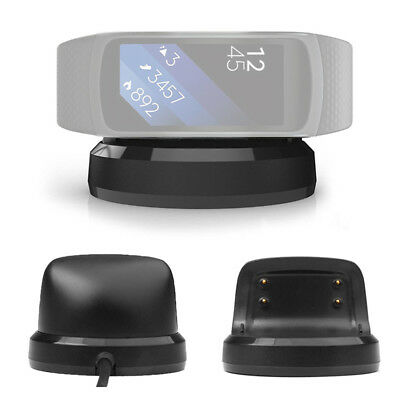 USB Cradle Dock Station Magnetic Charging Charger for Samsung Gear Fit 2 SM-R360