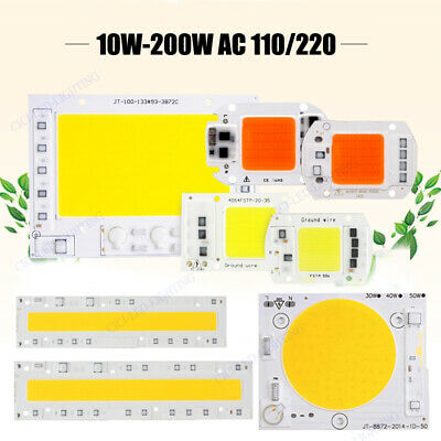30W 50W 70W 100W 200W LED Chip Integrated Smart IC Driver Plant Grow 110V 220V