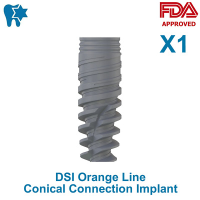 DSI Dental Implant Conical Connection Active Hex Nobel Active RP/NP CE ISO